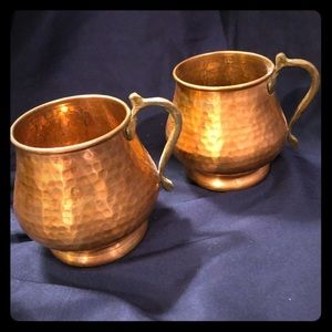 Two Moscow Mule Mugs